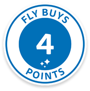 4 Fly Buys points for every review